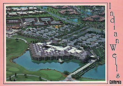 Indian Wells, California, The Vintage Club, Golf Course, Aerial View -- Postcard