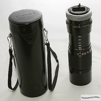 Canon FD 100-200mm f/5.6 S.C. Lens for Canon FD mount, W/Case, Japan (#635)