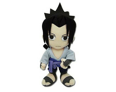"Brand New Naruto Shippuden GE-8901 ~ 9"" Sasuke Official Plush Toy Doll Stuffed"