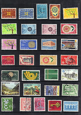 EUROPA Thematic Stamp Collection Used Ref: TH122