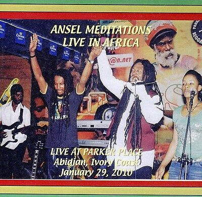Ansel Meditations Live In Africa - Ansel Cridland (2010, CD New)