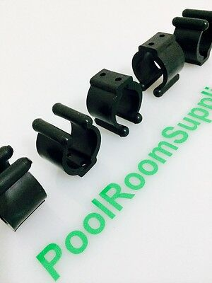 Nylon Pool Snooker Billiard Cue table Rack Fishing Rod parts Clips Clip Holders