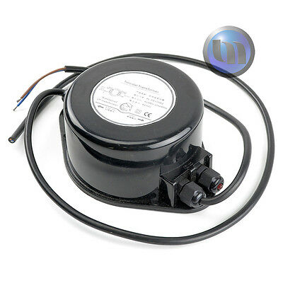 Waterproof Power Supply 12v AC 100W - Suitable for LED Swimming Pool Lights NEW