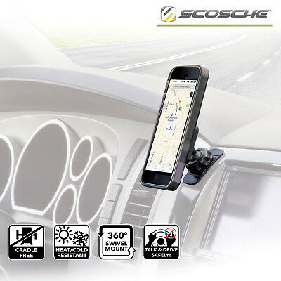 Scosche MagicMOUNT Magnetic Holder For Mobile Smart Phone iPhone iPod Sat Nav