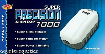 Ap7000 Precision Airpump Twin Air Pump Ideal For Aquarium Biorb Fish Tanks Flow