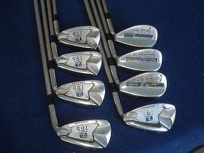 ZEVO LOB OVERSIZE IRONS 5-9 + 3 WEDGES SYSTEM FIT 5 GRAPHITE LADIES