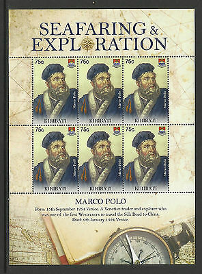 KIRIBATI 2009 SEAFARING & EXPLORATION MARCO POLO Sheet 6 MNH
