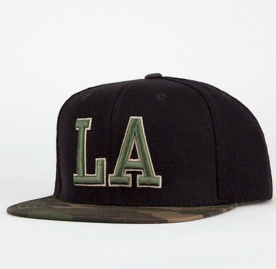NEW MLB AMERICAN NEEDLE Sundown Los Angeles Dodgers Camo Snapback Cap Hat c03047390148