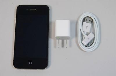 Used Working Unlocked GSM Black Apple iPhone 4S 16GB AT&T T-Mobile A1387 Phone