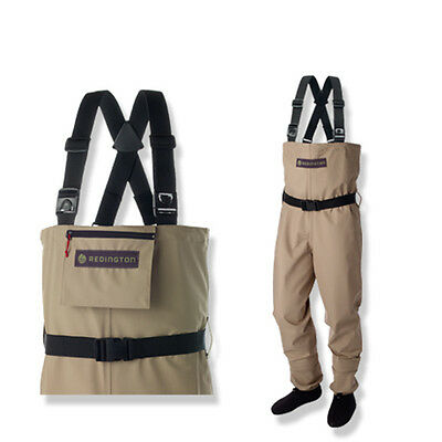 Redington Crosswater Youth Waders For Kids Fly Fishing w/ Booties & Wading Belt