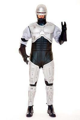 PMG-6769744-C Paper Magic Group Robocop Costume Adult Small 38-40
