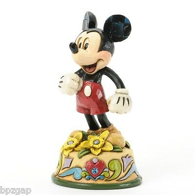 Disney Jim Shore Mickey Mouse March Birthstone Month Figurine #4033960