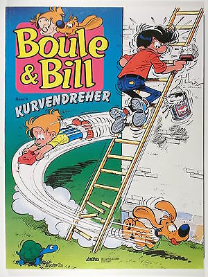 BOULE & BILL #  9 ( Ehapa, Softcover,2.Auflage ) Z 2