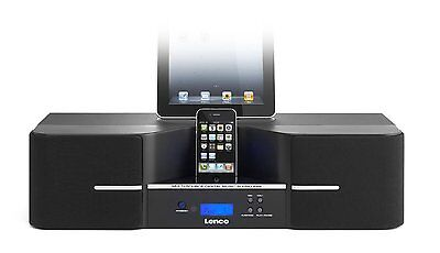 Lenco IPD-1003 80W Speaker Docking Station With 3D Sound and Bluetooth Connector