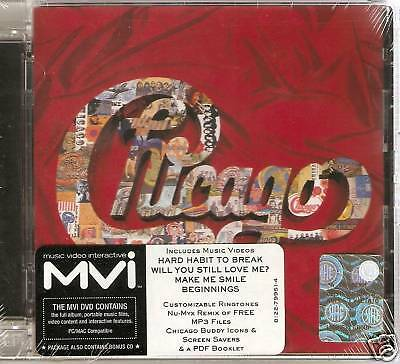 Chicago - The Heart Of 1967-1997 - Greatest Hits (CD & MVI DVD 2008) NEW/SEALED