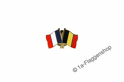 France - Belgium Flags Pin Flag Pins Badges Needle