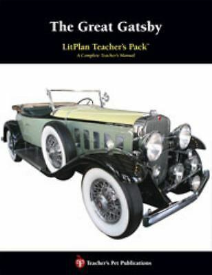 The Great Gatsby : A Unit Plan (Litplans on CD), Mary B. Collins, Good Book