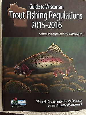 2016-2017 FISHING REGULATIONS APRIL 1 2016 TO MARCH 31 WISCONSIN 2017