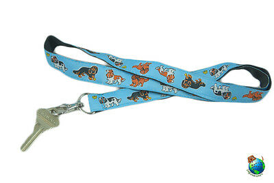 Cavalier King Charles Lanyard Key Holder Badge Holder
