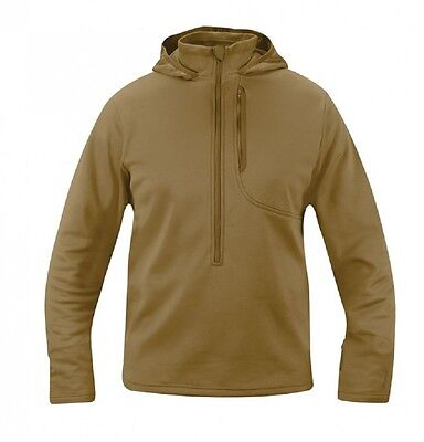US Propper V2 Lightweight Tactical Outdoor Spy Hoodie Hoody Pullover coyote M