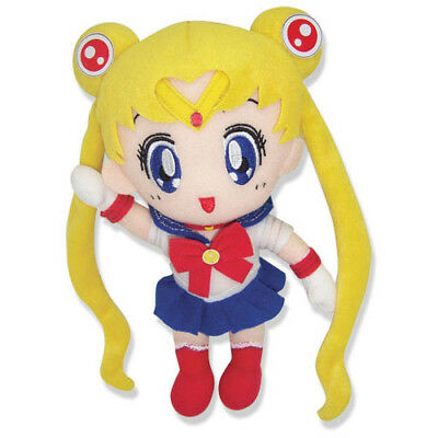 "New GE-6971 Great Eastern 8"" Sailor Moon Stuffed Plush Doll Toy Sailor Senshi"