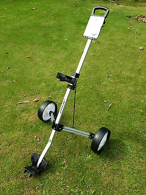 NEW Aluminium Golf Trolley 2 wheeled pull push lightweight cart