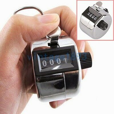 Manual Metal Counter the Flow of People Mechanical Counting Device Gadget Scaler