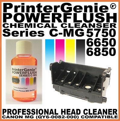 Printer Head Cleaner Fits: Canon MG5750 6650 6850 Nozzle Flush: Unclog & Fix