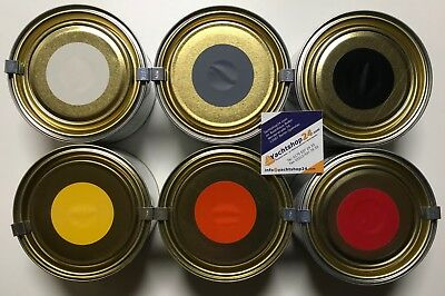 (60 €/ L) Veneziani Gummipaint - Rubber Dinghy Colour, Paint, Leather Colour