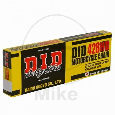 Derbi Senda 125 SM 4V DRD 2013  DID 428 HD x 134 Chain D.I.D