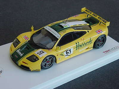 True Scale 1/43 Harrods Mclaren F1 GTR 3rd Place 24 Hours of LeMans 1995