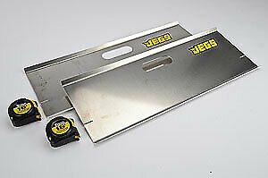 "JEGS Performance Products 81680 Toe Plates Aluminum 24"" x 9"" x 0.120"""