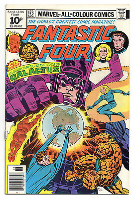 Fantastic Four Vol 1 No 173 Aug 1976 (VFN) Marvel Comics, Bronze Age (1970-1979)