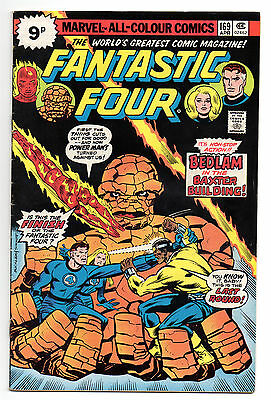 Fantastic Four Vol 1 No 169 Apr 1976 (FN+ to VFN-) Marvel Comics, Bronze Age