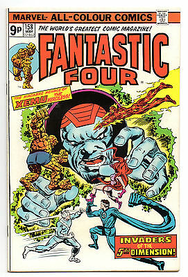 Fantastic Four Vol 1 No 158 May 1975 (VFN) Marvel Comics, Bronze Age (1970-1979)