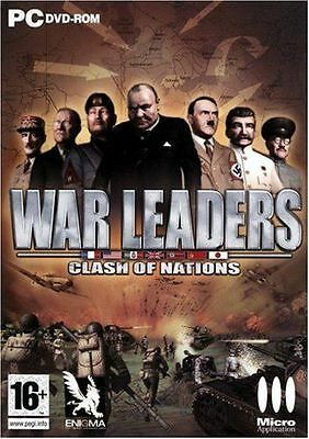 31428 // War Leaders Clash Of Nations Jeux Pour Pc Neuf
