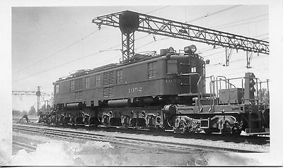 S086 RP 1936 CLEVELAND UNION TERMINAL RAILROAD LOCO #1052 CLEVELAND LINNDALE OH