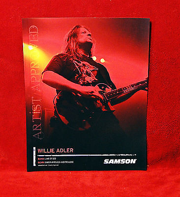 TWO<>Lamb of God<>Will Adler & Mark Morton Promo Posters<>Samson<>GHS