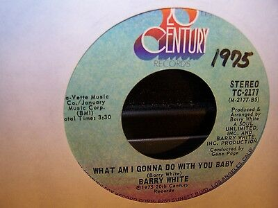 Barry White - What Am I Gonna Do With You Baby / What Am I Gonna Do With You a