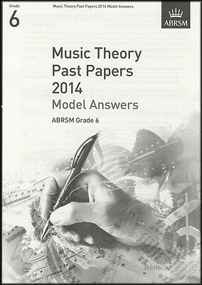Music Theory Past Papers 2014 Model Answers ABRSM Grade 6 Exam