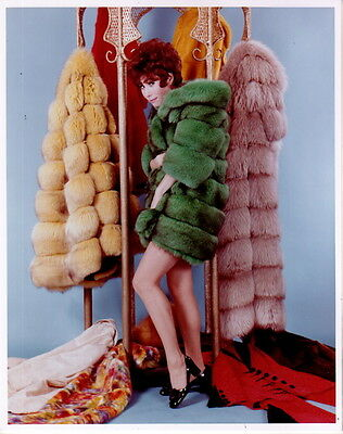 Michele Lee Leggy in Fur 8x10 photo P9804