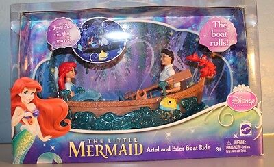 NEW! Disney's  Ariel and Eric's boat ride. Mattel. Great for Easter!