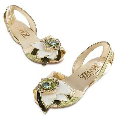 Disney Store Princess & the Frog Tiana Dress Shoes Girls 7/8 9/10 11/12 13/1 2/3