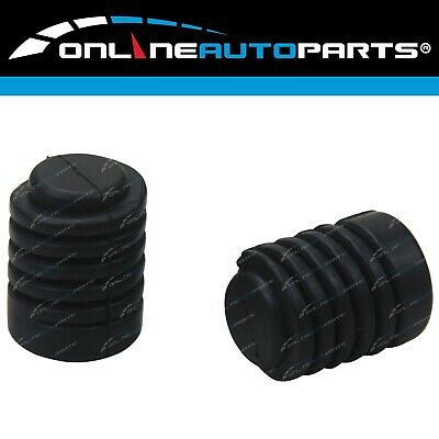2 Bonnet Adjusting Bumper Stops Rubbers for Navara D22 UteNissan New Pair