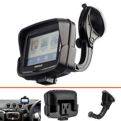 Rigid Arm Car Suction Vehicle Mount + Dedicated Holder for TomTom Rider v5 4.3