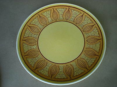 "Honey Gold 10"" Dinner Plate Taylor Smith Taylor USA"