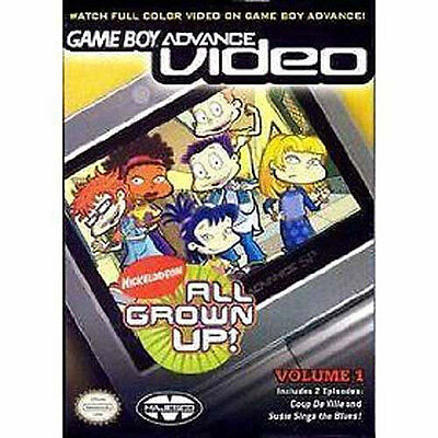 20 LOT BRAND New GBA Video All Grown Up! Volume 1
