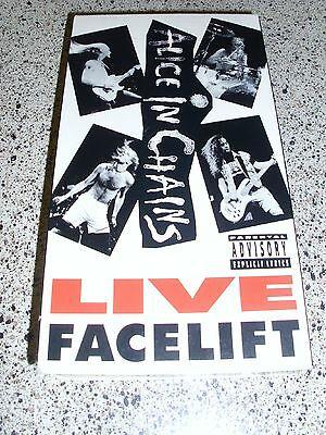 Alice In Chains Live Facelift VHS OOP Layne Staley Live in Seattle 1990 AIC