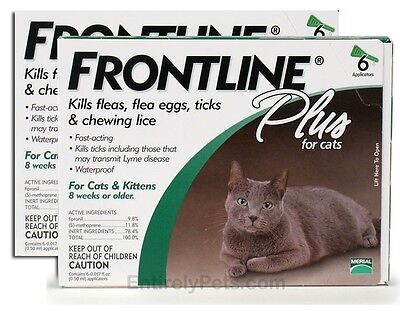 Frontline PLUS for Cats 12 MONTH