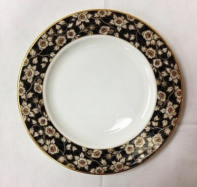 "Lenox ""golden Dynasty"" Salad Plate 8 1/8"" White Bone China New Made In U.s.a."